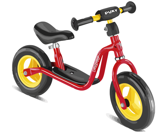 Child's Bike With No Pedals