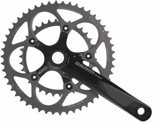 Double Cassette Chainset