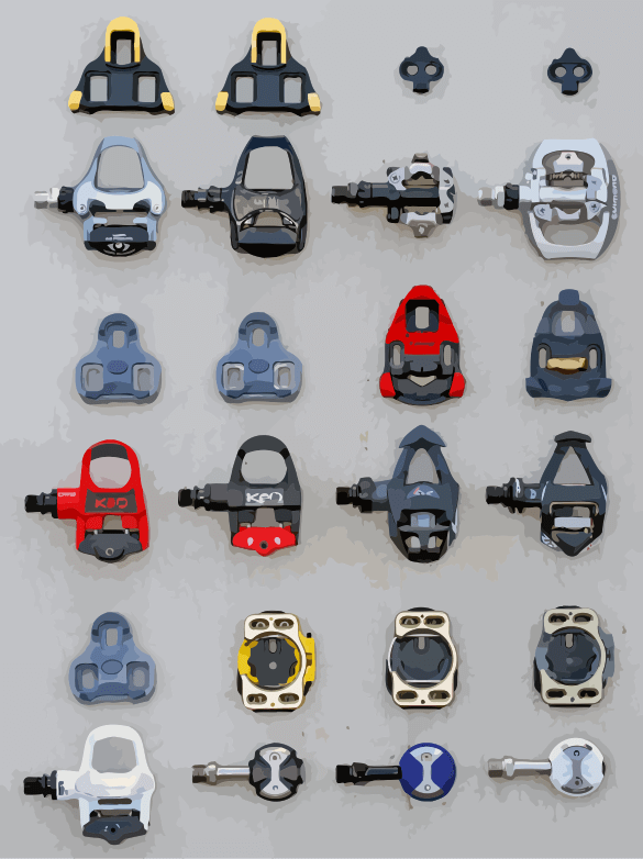 Examples of Clipless Pedals