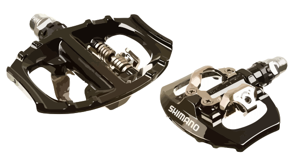 Hybrid Clipless Pedals