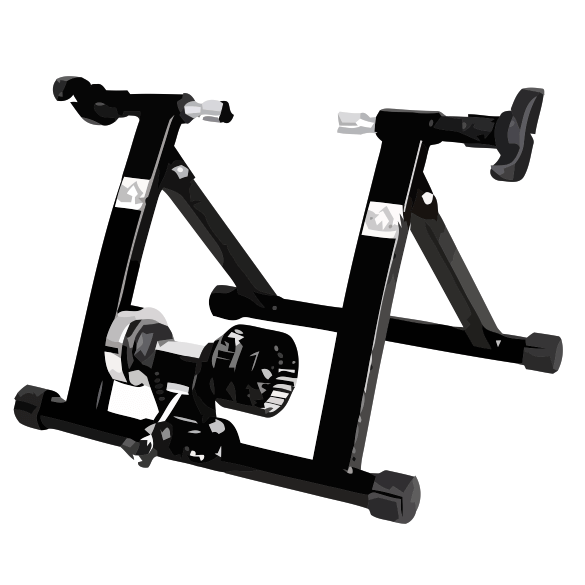 Turbo Trainer with Wind Resistance