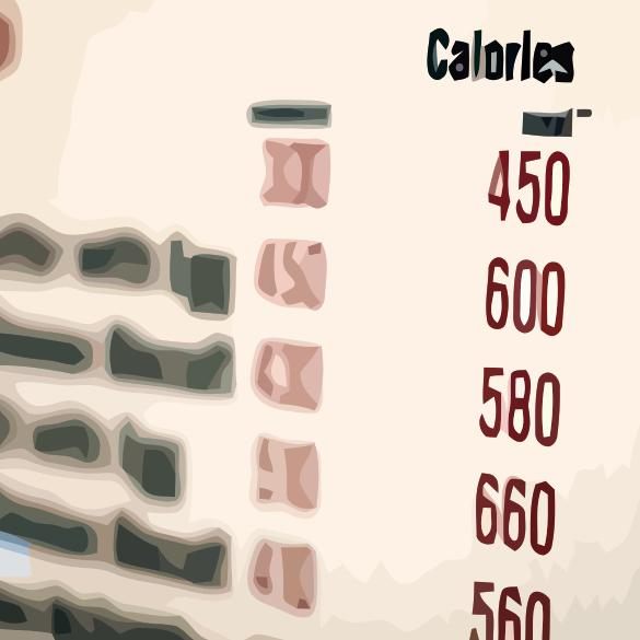Calories on a Menu