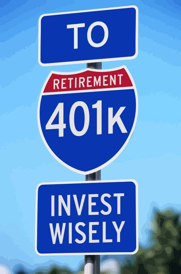 Road Sign: To Retirement