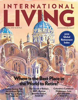 International Living Magazine Cover