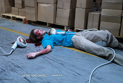 Workplace Safety: Distractions Can Kill
