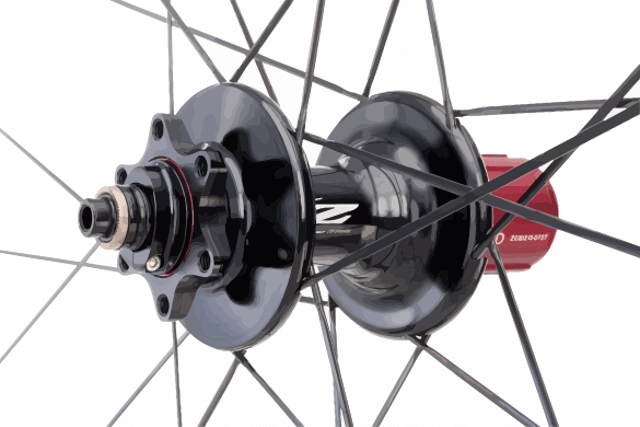 Rear Hub with Rotor Attachments
