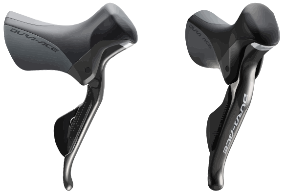 Shimano Dual Brake and Gear Lever