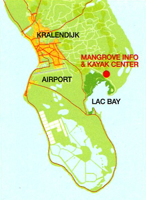 Map to Mangrove Center