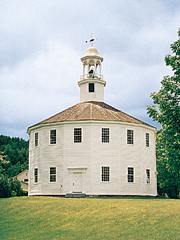 Round Church in Richmond, Vermont