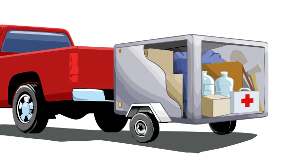 Truck with Portable Storage