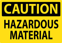 Caution: Hazardous Material
