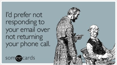 Returning Emails and Phone Calls