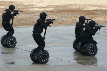 Anti Terrorism Segways